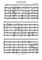 Molique B. Concertino g-moll, version for Oboe and String orchestra - Score & Parts