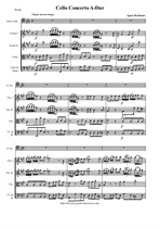 Holzbauer I. Cello Concerto A-Dur - Score & Parts
